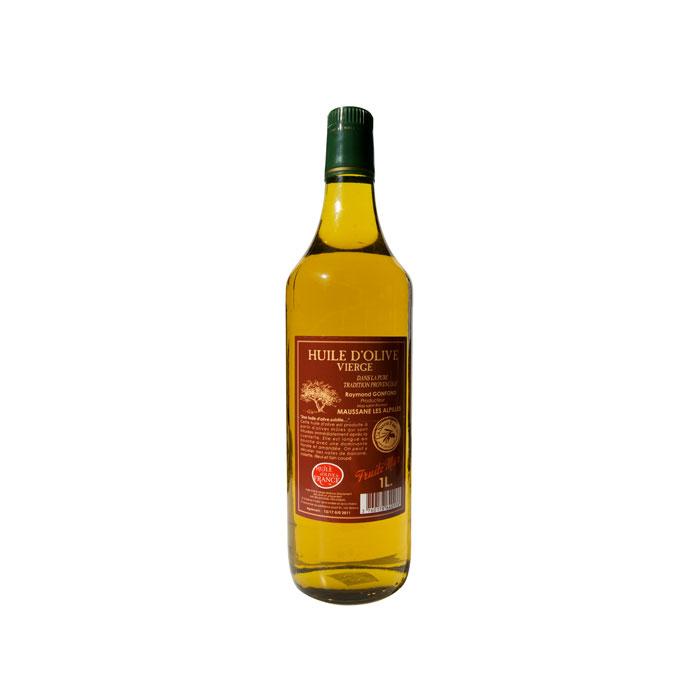 Bouteille d'1L d'huile d'olive au fruité mûr