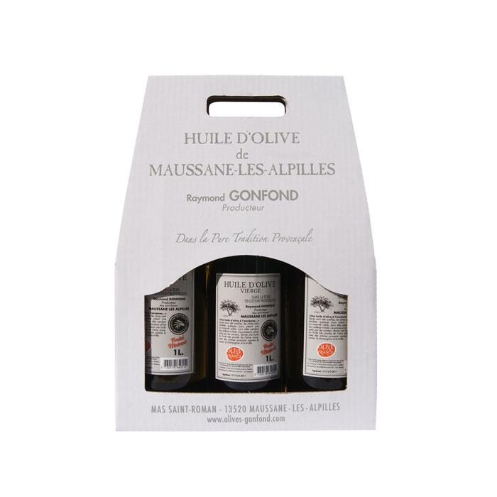 L'huile au fruité Mâturé d'olives noires confites