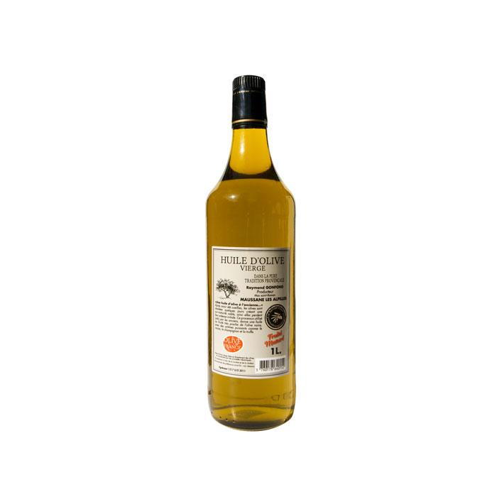 Bouteille d'1L d'huile d'olive au fruité maturé