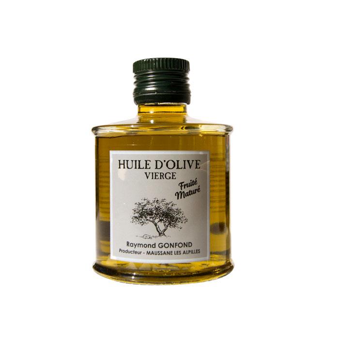 Bouteille de 25cl d'huile d'olive au fruité maturé