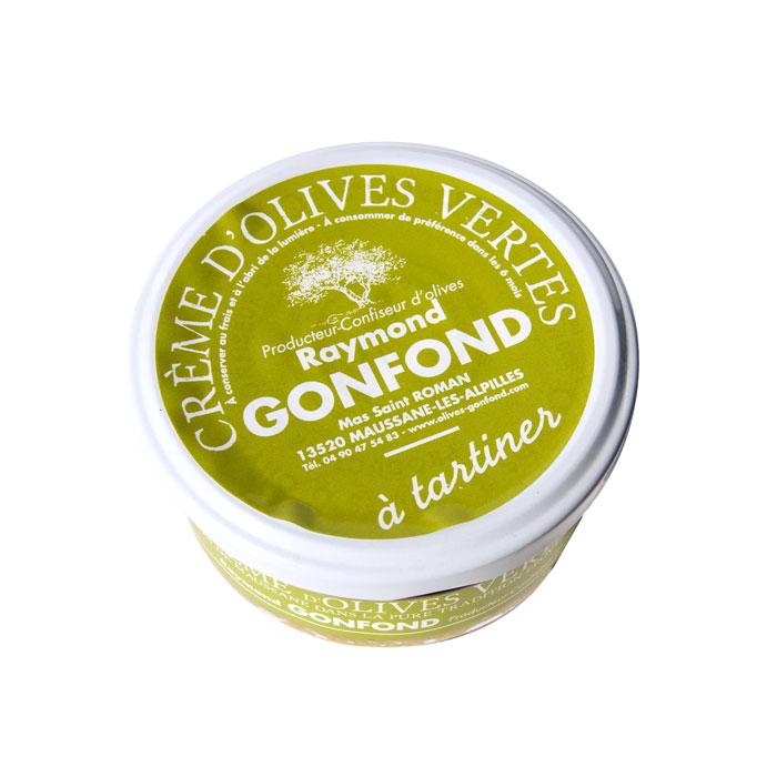 Crème d'olives vertes à base de picholines