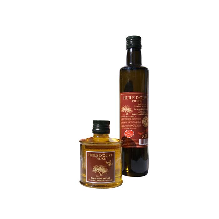 Petites Huiles d'olive au fruité Mûr