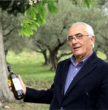 Raymond Gonfond et son huile d'olive